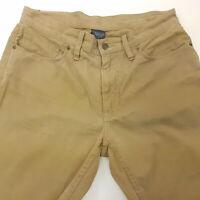 Polo Ralph Lauren Mens Vintage Summer Trousers Pants W32 L30 Regular Straight
