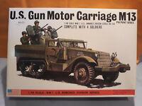 BANDAI CHAR U.S.GUN MOTOR CARRIAGE M13~~1/48 NEUF  KIT MAQUETTE