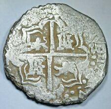 1622-23 Transposed Lion Error Porto Bello Hoard Spanish Silver 8 Reales Cob Coin
