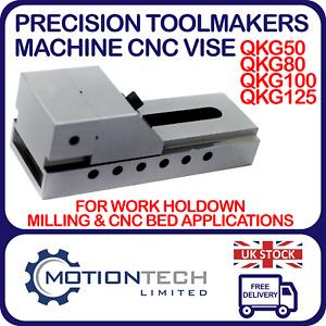 QKG Precision Toolmakers Vise Milling, CNC Machines
