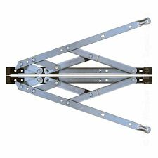 "Pair of 12 "" Inch UPVC Window Friction Hinge Side Hung 13mm Stack"