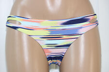 NEW ROXY Surfer Multi Cutout Sides Hipster Bikini Bottom Pant Swimwear S Small