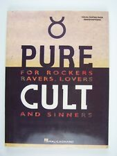 The Cult - Pure Cult Paperback 1994 Vocal/Guitar/Bass Hal Leonard ~Very RARE