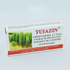 10 suppository with Thuja extract for anal fissure, hemorrhoid, prostate, wounds