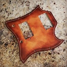 Leather Guitar Pickguard - Gibson SG Style - Hand Tooled Leather