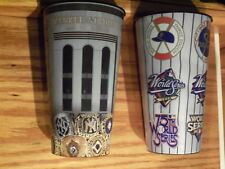 NEW YORK YANKEES  World Series Patch and World Series Ring Collector Cups
