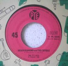 """BRIAN DIAMOND & the CUTTERS See if I care (LISTEN) RARE 7"""" 1965 beat r&b UK"""