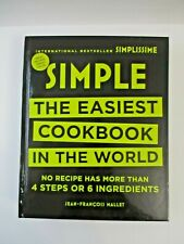 Simple: The Easiest Cookbook in the World Jean-Francois Mallet FREE SHIP