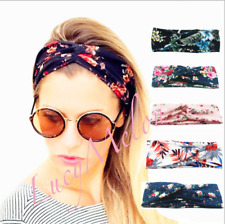 Wide Headband Knot Dance Yoga Hairbands fashion sports women xmas girls twist