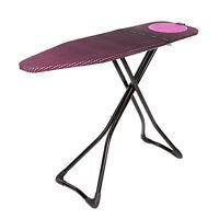 Bügelbrett Bügeltisch Kompakt von Minky 122 x 38 cm - Pink