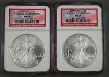 2006 $1 American 1 Oz 999 Silver Eagle Coin NGC MS69 1 of First 50,000 Struck BU