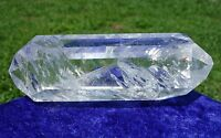 Super Clear Quartz Crystal a DT Point Wand Polished from Brazil For Sale