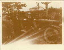 France, Voiture d'époque Vintage silver print. Vintage car Tirage argenti