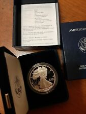 "1994 US Silver Eagle Proof ""In Original Box With COA"""