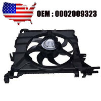 Radiator Condenser Cooling Fan Motor Assembly for Smart Fortwo 07-15 USA