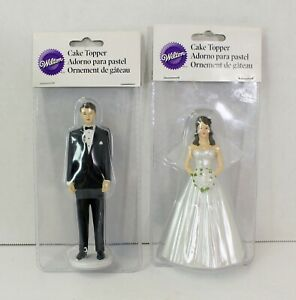 NEW Wilton Wedding CAKE TOPPER Bride & Groom 2013 SEALED