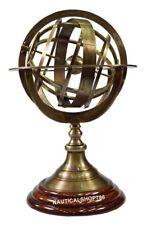 Nautical Armillary Tabletop Sphere Globes Armillary Office Decor Item
