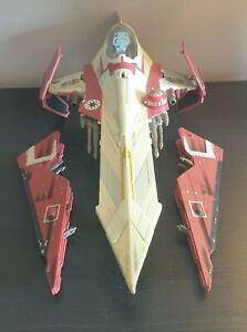 "Star Wars Obi-Wan Kenobi's Jedi Starfighter 2001 Attack of the Clones 15.5"" Long"
