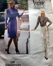 LOVELY VTG 1970s DRESS or TOP VOGUE DESIGNER KAISERMAN Sewing Pattern 8/31.5