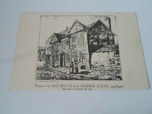 Head Master Residence Long Millgate James's Views of Manchester 1821-1825 §ZA218
