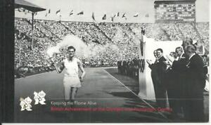 QE2 KEEPING THE FLAME (OLYMPICS) PRESTIGE BOOKLET DY5 2012
