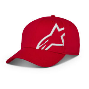 Alpinestars Corp Snap 2 Hat Red/White O/S