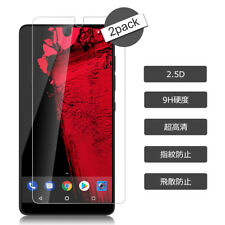 2X Premium Clear Tempered Glass Screen Protector Shield HD For Essential Phone