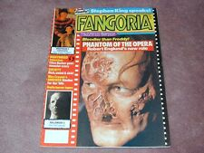 FANGORIA # 87, Stephen King, Phantom of the Opera, Nightmare 5 FREE SHIPPING USA