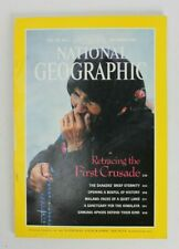 National Geographic Magazine September 1989 Retracing the First Crusade Vintage