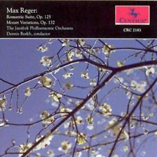 Reger - Romantic Suite, Mozart Variations - Ln Centaur Cd Crc2183