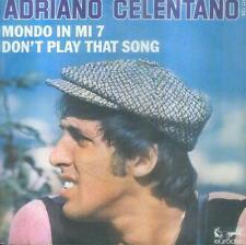 """7"""" Adriano Celentano/Mondo In Mi 7 (France)"""