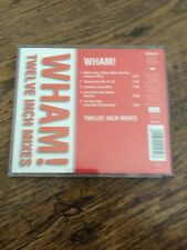 "❤️VERY RARE AUSTRIAN CD❤️The 12"" Mixes-Wham! (George Michael) RED REISSUE"