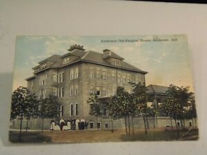 Anderson Old People's Home, Anderson, Indiana Postcard 8/4/21