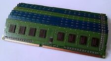 LOT OF 10 1GB PC3-10600 DDR3 1333MHZ DESKTOP MEMORY MAJOR NAME BRAND WARRANTY