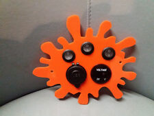 Orange Splat Funky Control Panel USB 12V Switch Voltage VW T4 Camper Motorhome