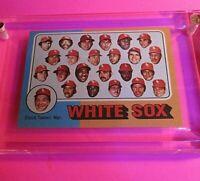 1975 Topps #276 Chicago White Sox Team CL/ Chuck Tanner Mgr NmMt High Grade