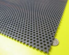 "PVC Type I Perforated Sheet, 3/16"" Thick x 24"" x 24"", 3/16"" Dia Hole, Staggered"