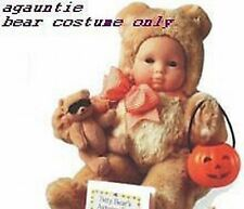 American Girl Bitty Baby Trick Or Treat Halloween BEAR COSTUME ONLY Twins Outfit