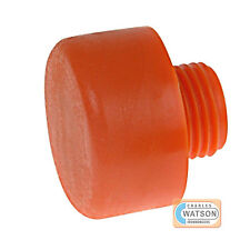 THOR 414PF 44mm Replacement Orange Plastic Hammer Face Screw In Head