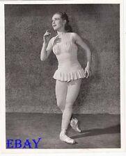 Janet Reed ballet dancer VINTAGE Photo On Stage