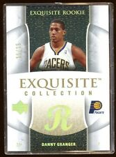 DANNY GRANGER 2005 EXQUISITE GOLD RC #11/25 PACERS SUPERSTAR  RARE EXQUISITE RC