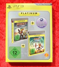 Ratchet & Clank Tools of destruction + a crack in time, PLAYSTATION 3 Gioco, Nuovo