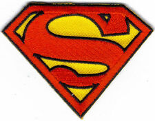 SUPERMAN LOGO IRON ON PATCH  BUY 2 WE SEND THREE