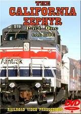 Amtrak's California Zephyr Cab Ride Part 1 DVD NEW Sparks to Norden on Donner