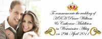 PRINCE WILLIAM KATE MIDDLETON ROYAL WEDDING MUG 6