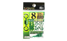Sasame 210-J Power Stain Swivel Smooth Spin Green Size 8 (9847)