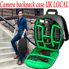 Classic Waterproof DSLR Camera Lens Backpack Case Bag Cover For Canon Nikon Sony