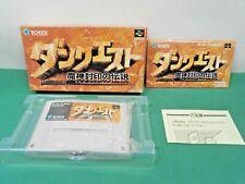 SNES - DAN QUEST Majin Fuuin - New. Can save. RPG. Super famicom Japan 15257