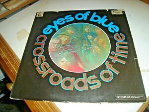 """EYES OF BLUE """"CROSSROADS OF TIME"""" 1968 MERCURY 134087MCY prima stampa HOL PSYCH"""