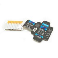 Dollhouse Black Marlboro Cigarette Case with 10 Cigarettes Miniature Accessories